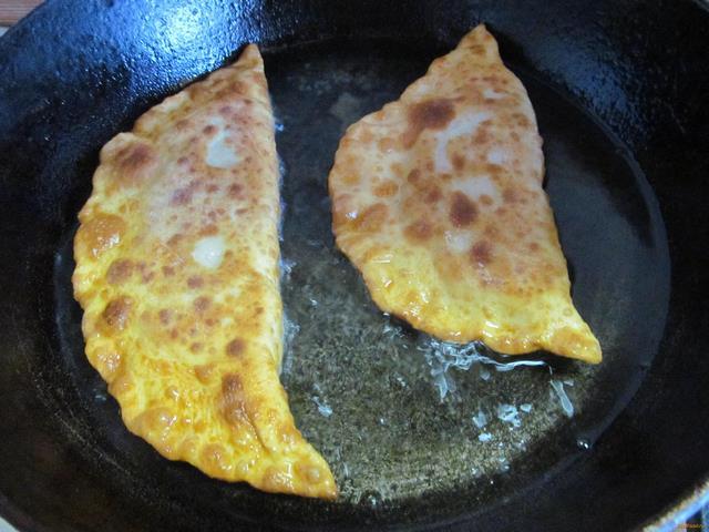Чебуреки без яиц рецепт пошаговый рецепт