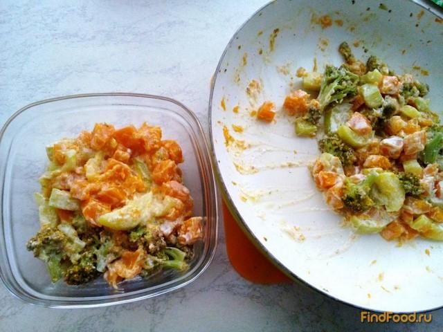 Рецепт Тыква с овощами в сметане рецепт с фото