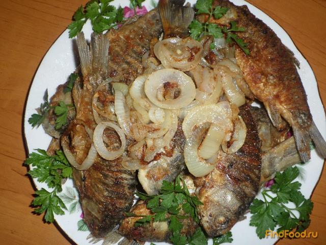 Рецепт Жареные карасики рецепт с фото
