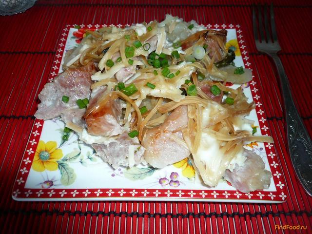Рецепт Свинина запеченная с картофелем рецепт с фото