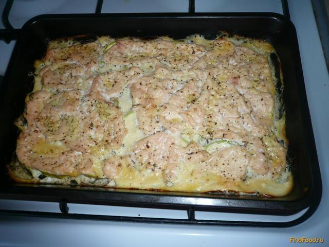 Куриное филе запеченное с кабачками рецепт пошагово