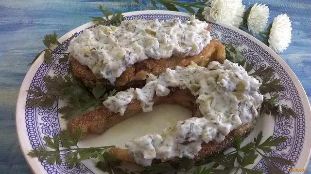 Рецепт Жареный толстолобик с пикантным соусом рецепт с фото