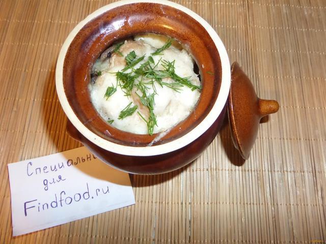 Рецепт Жаркое с куриными фрикадельками рецепт с фото