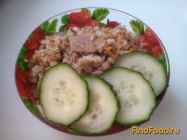 Рецепт Гречка с жареным мясом рецепт с фото