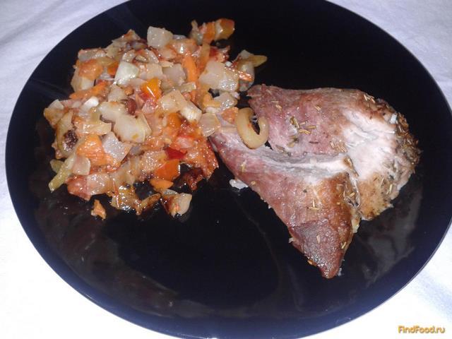 Рецепт Запечённое мясо в рукаве рецепт с фото