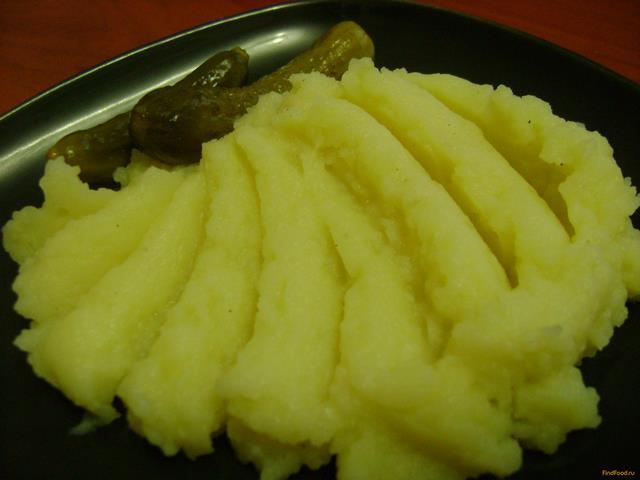 Рецепт Картофельное пюре с горчицей рецепт с фото