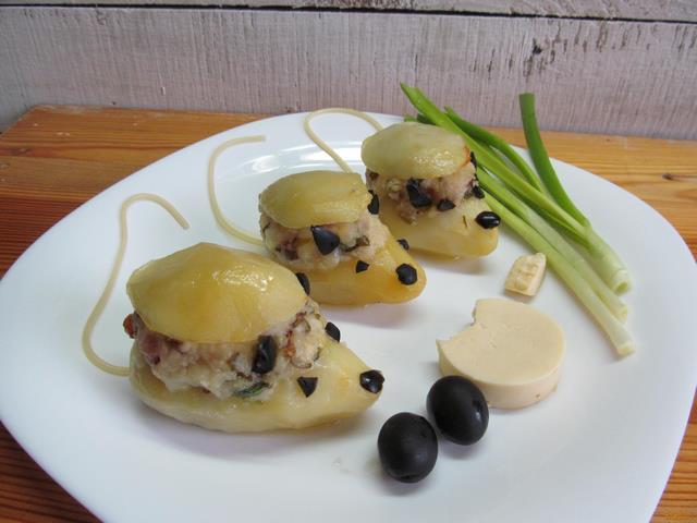 Рецепт Картофельные мышки рецепт с фото