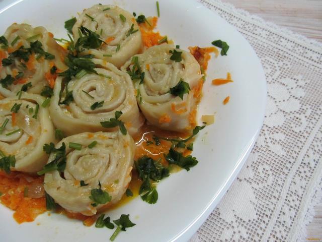 Рецепт Пельмени ленивые в сковороде рецепт с фото