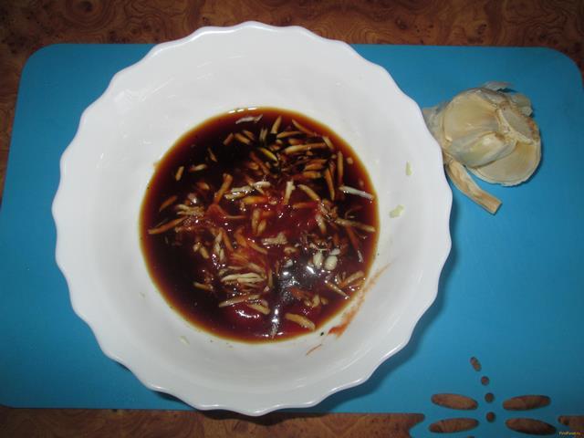 Куриные ножки в соево-медовом соусе рецепт с фото 5-го шага