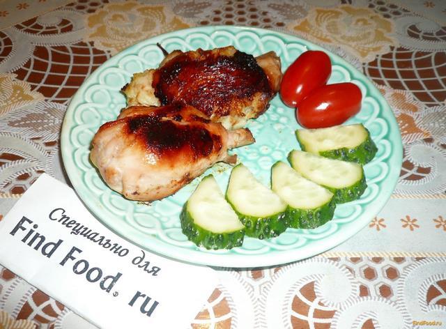 куриные голени рецепт без духовки