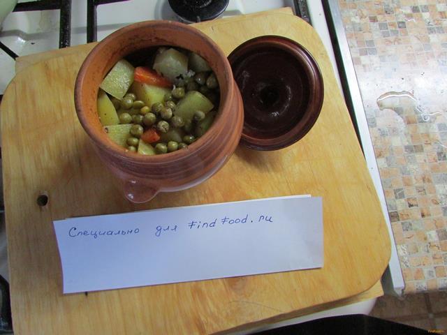 Рецепт Жаркое в горшочке Чинахи рецепт с фото