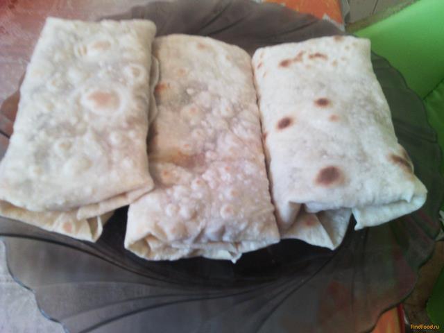 Рецепт Буррито с мясом и картофелем рецепт с фото