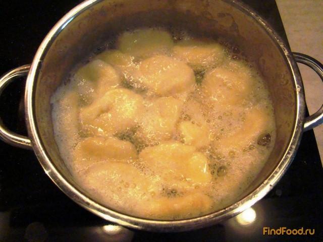 Картофельные Клёцки по-домашнему рецепт с фото 10-го шага