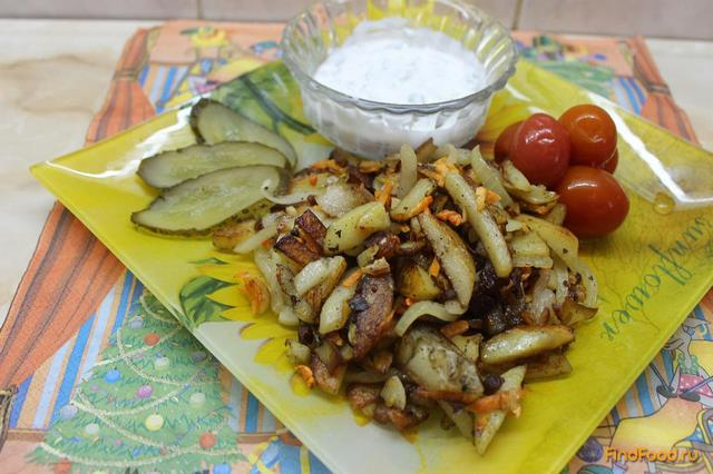 Рецепт Картофель по - деревенски с соусом рецепт с фото