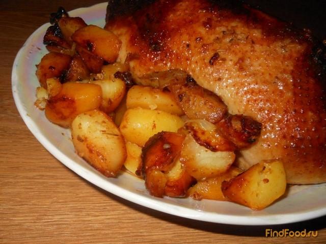 Утка в духовке с картошкой в домашних условиях пошаговый рецепт с фото
