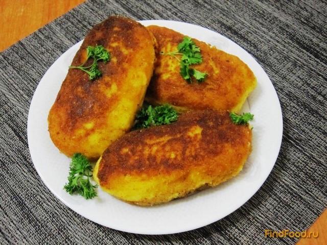 Рецепт Картофельные пирожки с сардельками рецепт с фото