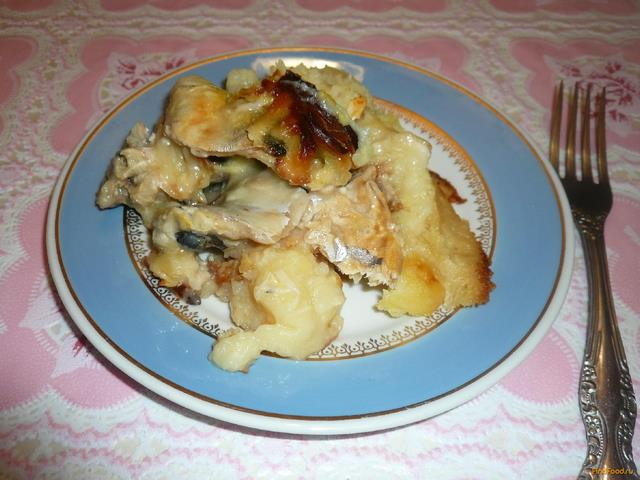 Рецепт Рыба запеченная по-русски рецепт с фото