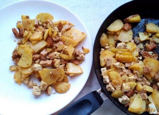 Рецепт Картофель с тофу рецепт с фото