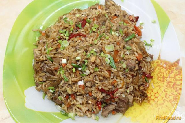 Рецепт Японский рис с курицей рецепт с фото