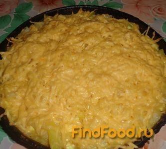 Рецепт Картофельная запеканка с базиликом и сыром рецепт с фото