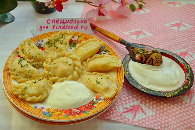 Рецепт Вареники с картофельным пюре рецепт с фото