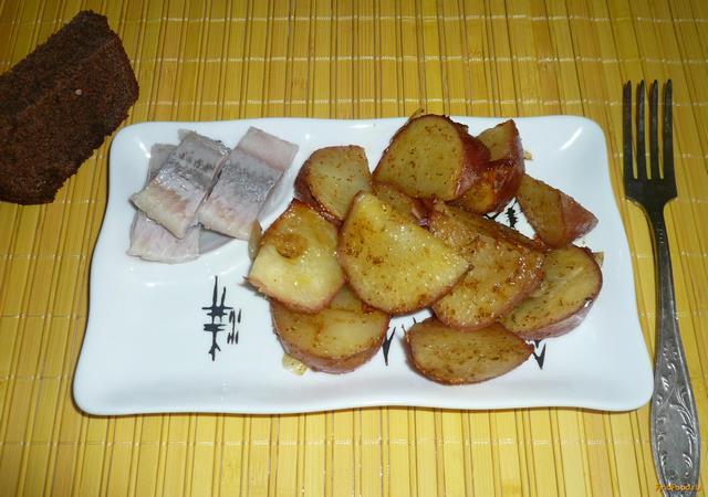 Рецепт Картофель запеченный по-простому рецепт с фото