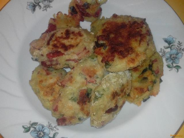 Рецепт Биточки из картофеля с сыром рецепт с фото