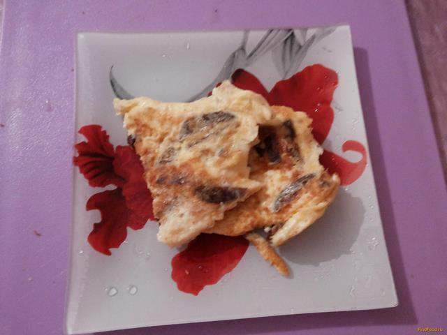 Рецепт Омлет с домашней колбасой рецепт с фото