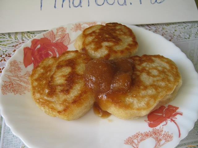 Рецепт Оладьи на молочной сыворотке рецепт с фото
