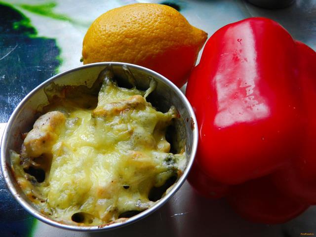 Рецепт Жульен с курицей и брокколи рецепт с фото