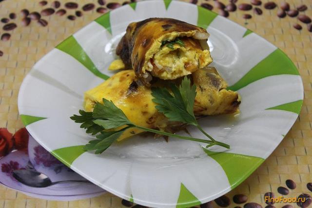 Рецепт Омлет с сыром помидорами и беконом рецепт с фото