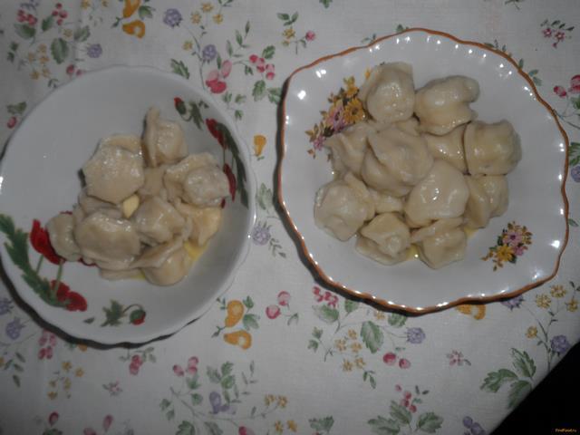 Рецепт Пельмени с морским мясом рецепт с фото
