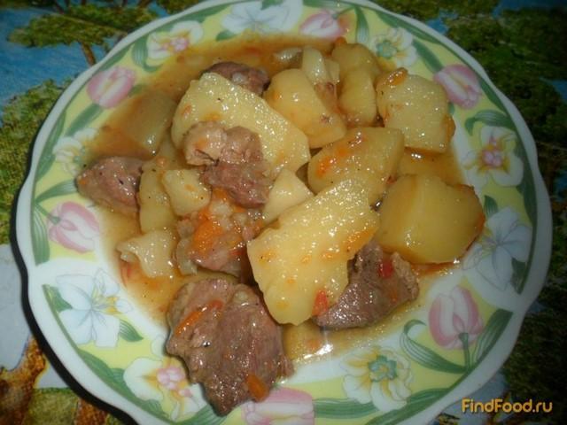 Рецепт Жаркое с гусиного мяса рецепт с фото