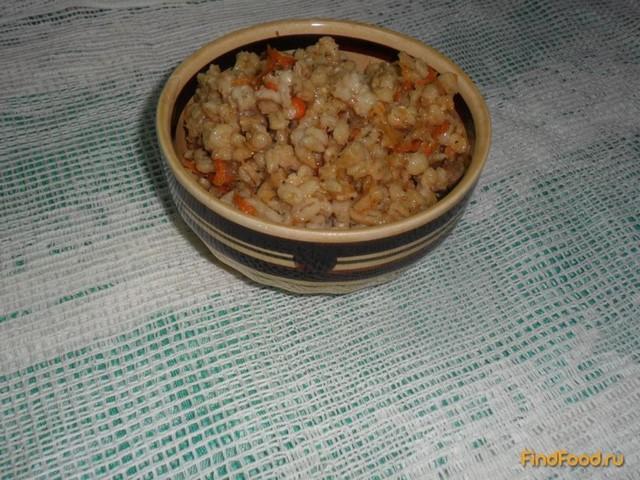 Рецепт Щедрая кутья или перловка с мясом рецепт с фото
