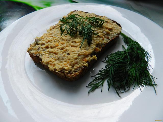 Рецепт Куриный паштет с грибами рецепт с фото