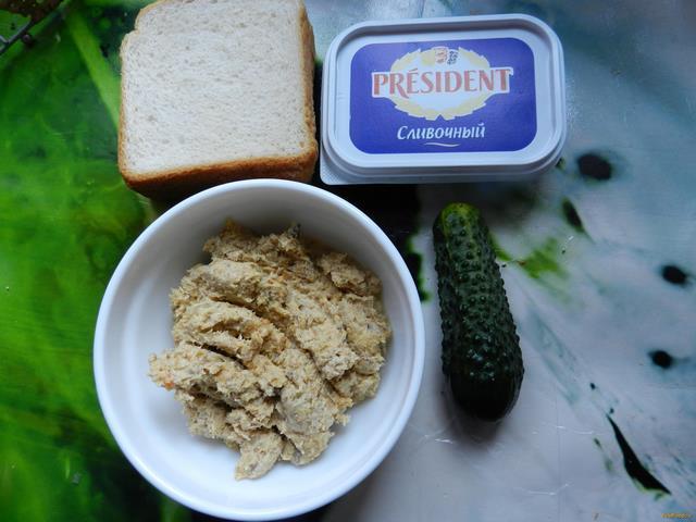 закуски с паштетом куринным рецепт с фото пошагово