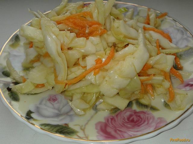 Рецепт Капуста по - корейски рецепт с фото