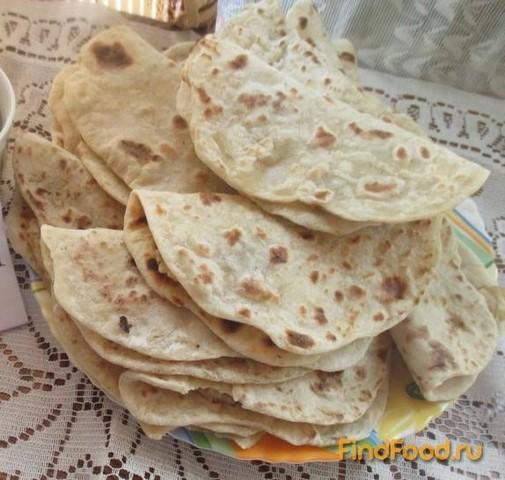 Рецепт Пресные лепешки с картофелем луком и грибами рецепт с фото