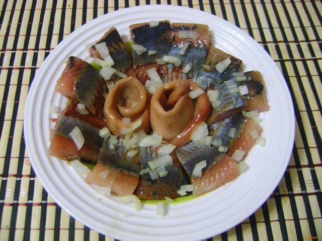 Рецепт Сельдь в горчичном маринаде рецепт с фото