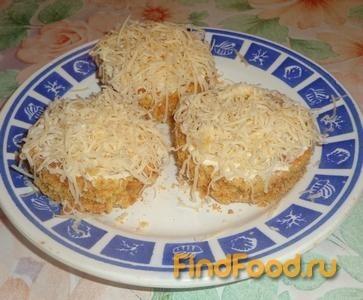 Рецепт Закусочные пирожные с мясом рецепт с фото