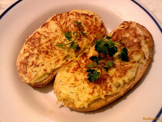 Рецепт Горячие бутерброды с картофелем рецепт с фото