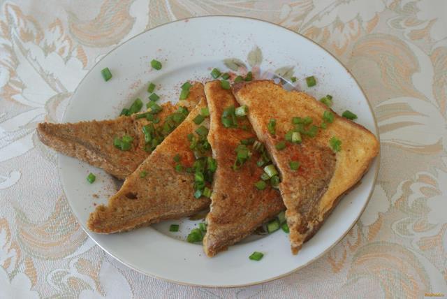 Рецепт Гренки в яйце рецепт с фото