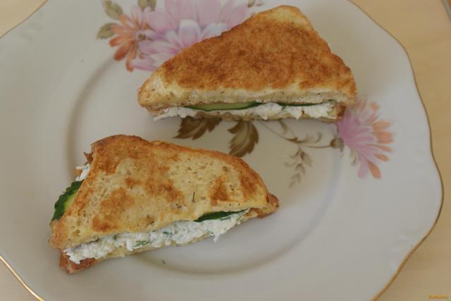 Гренки с плавленным сыром рецепт