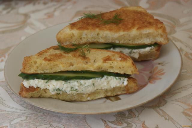 Рецепт Гренки с плавленым сыром рецепт с фото