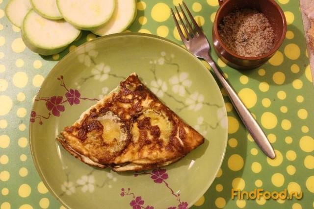Рецепт Омлет с кабачком рецепт с фото