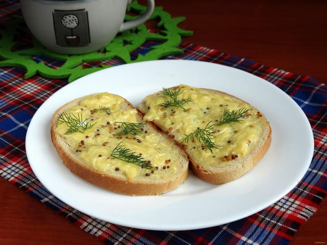 Рецепт Гренки по-валлийски рецепт с фото