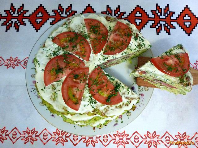Рецепт Торт из кабачков рецепт с фото