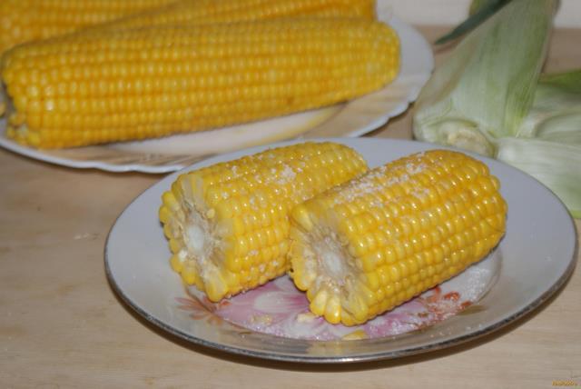Рецепт Отварная молодая кукуруза рецепт с фото