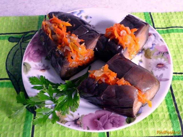 Рецепт Баклажаны квашеные фаршированные рецепт с фото