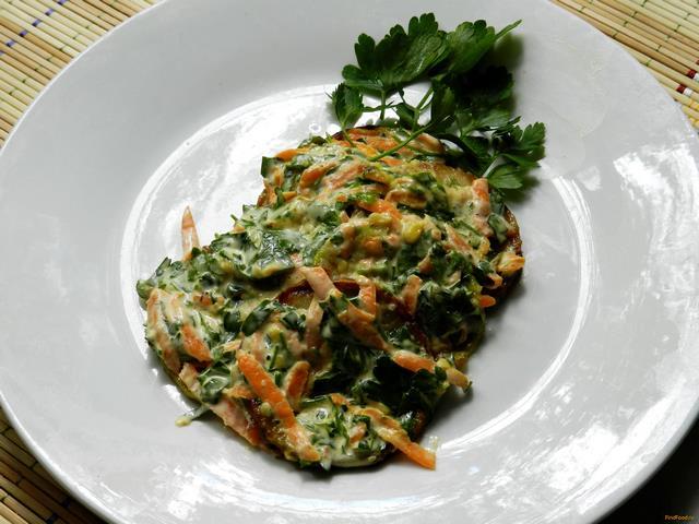 Рецепт Закуска из кабачков с чесноком рецепт с фото